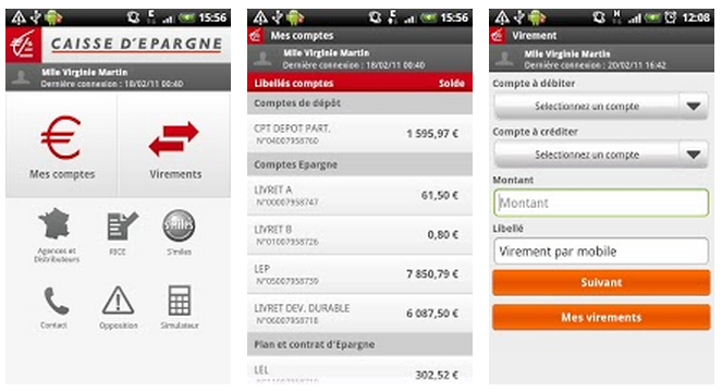 Top Des Applications Mobiles Des Banques Fran 231 Aises