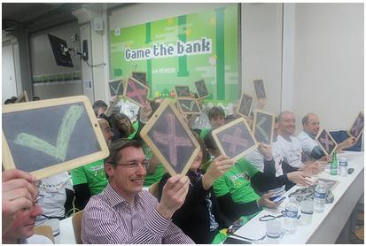 jeu hackathon banque