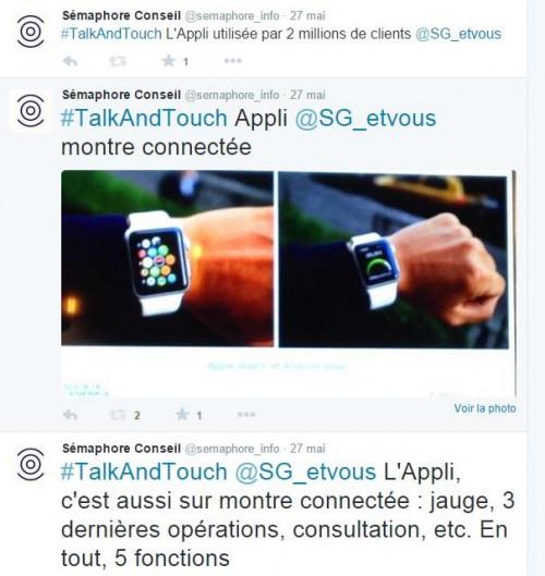 Tweets semaphore