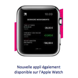 application boursorama banque watch