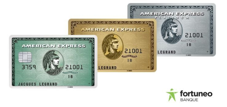 Carte American Express.American Express Fortuneo Offre Une Amex A Ses Clients Les Plus Actifs