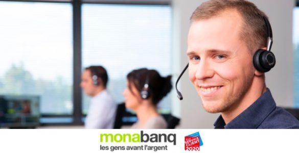 téléconseiller service client Monabanq