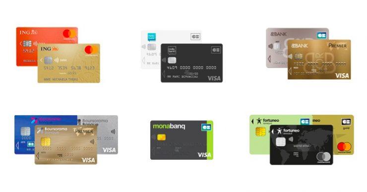 cartes bancaires gratuites